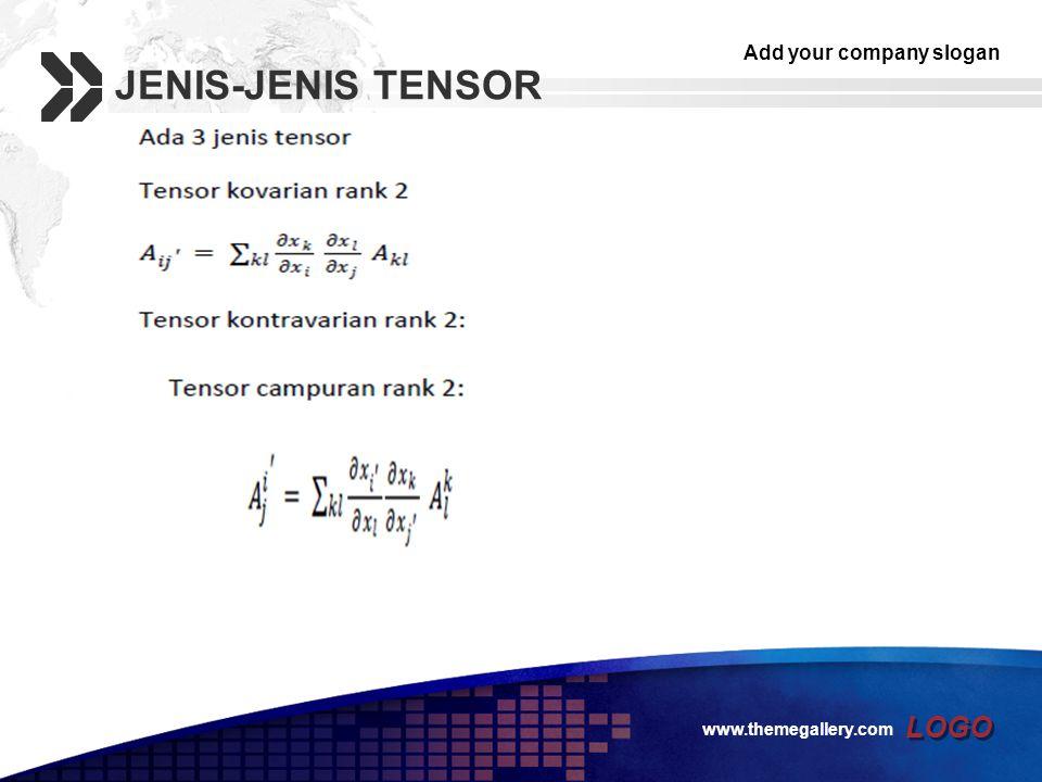 Add your company slogan LOGO JENIS-JENIS TENSOR www.themegallery.com