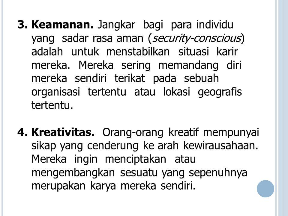 5.Otonomi dan Kemandirian.