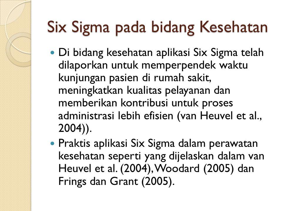 Metode Penelitian Dalam studi tersebut, kami telah mengikuti program Six Sigma di SkaS selama tiga tahun dengan memonitor dan berpartisipasi dalam lebih dari dua puluh proyek-proyek perbaikan yang lebih besar dengan menggunakan pendekatan penelitian tindakan.