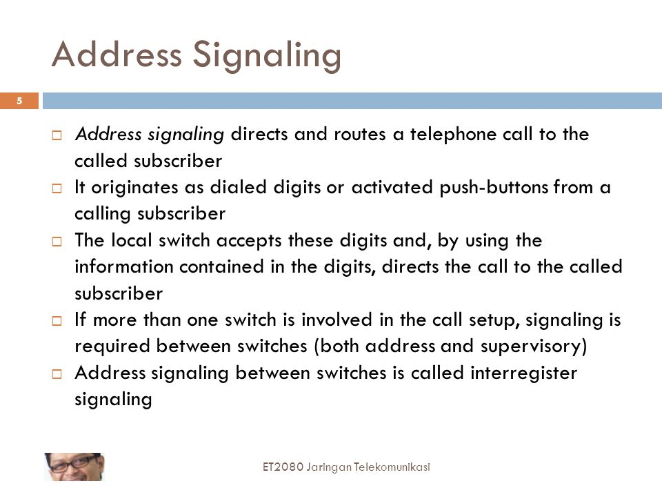 Call Progress: Audible-Visual  This type of signaling we categorize in the forward direction and in the backward direction  In the forward direction there is alerting  This provides some sort of audible-visual means of informing the called subscriber that there is a telephone call waiting  This is often done by ringing a telephone's bell  A buzzer, chime, or light may also be used for alerting.