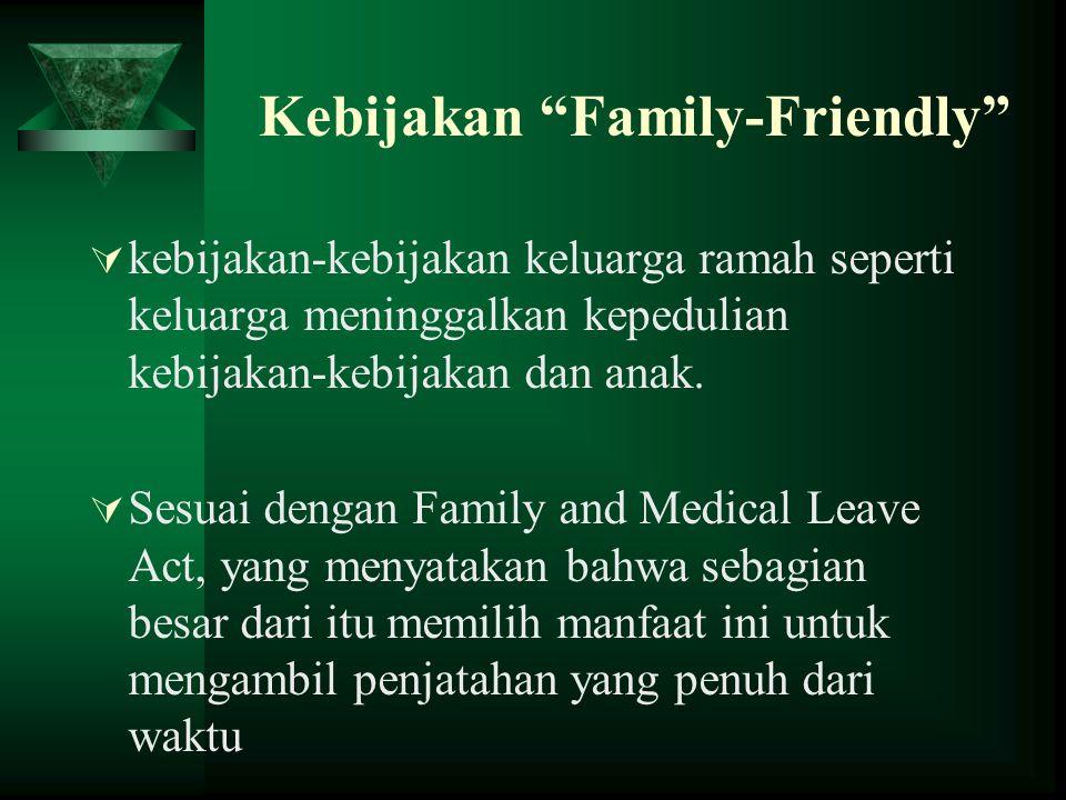"Kebijakan ""Family-Friendly""  kebijakan-kebijakan keluarga ramah seperti keluarga meninggalkan kepedulian kebijakan-kebijakan dan anak.  Sesuai denga"