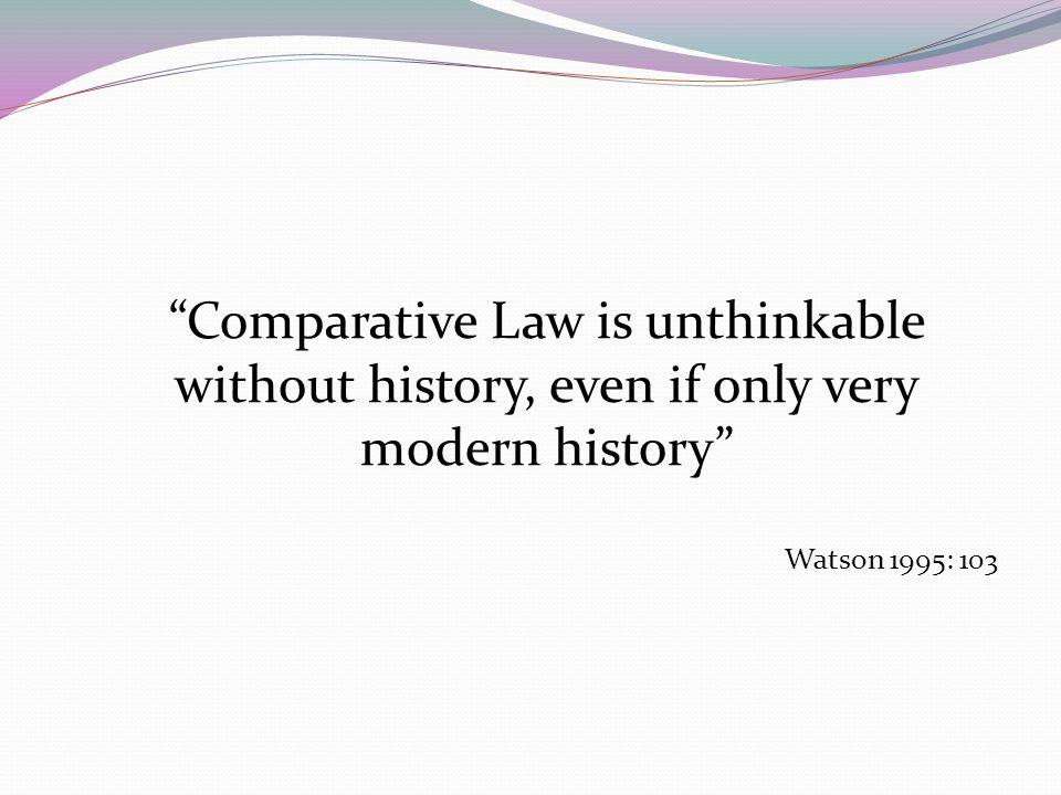 Pembahasan Hubungan perbandingan hukum dan sejarah hukum Analisis perbandingan hukum dalam tinjauan sejarah