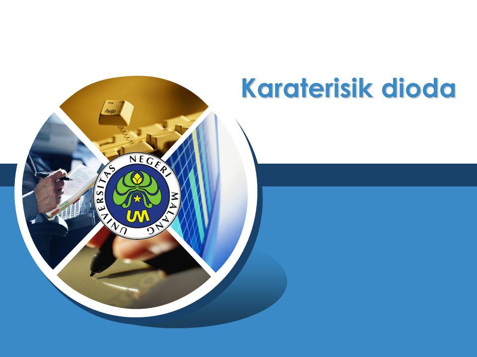 Kurva karateristik dioda secara umum
