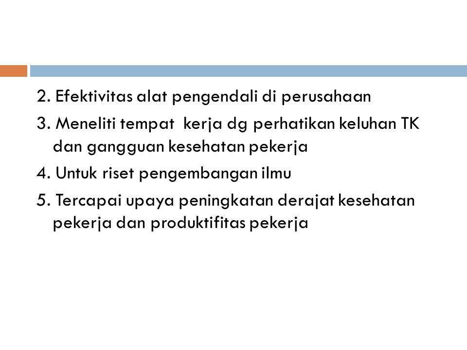 Dalam lingk.Kerja dikenal faktor : 1. FISIK (suhu, penerangan, kebisingan …) 2.