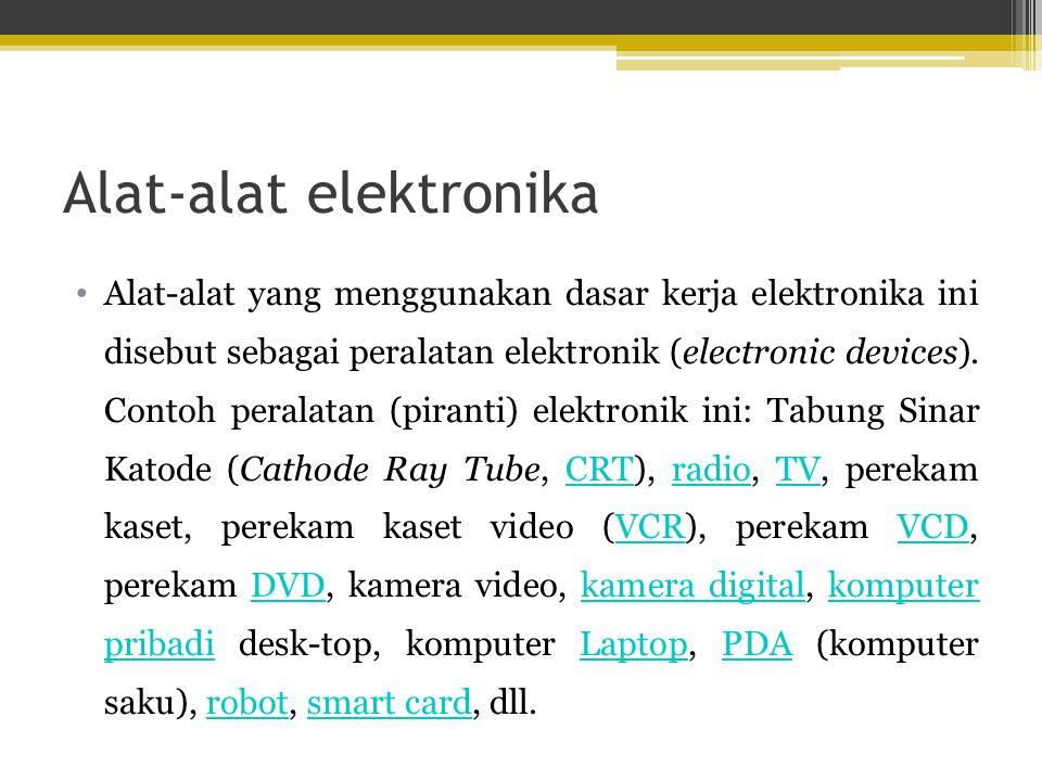 1. Elektronika Analog 2. Elektronika Digital