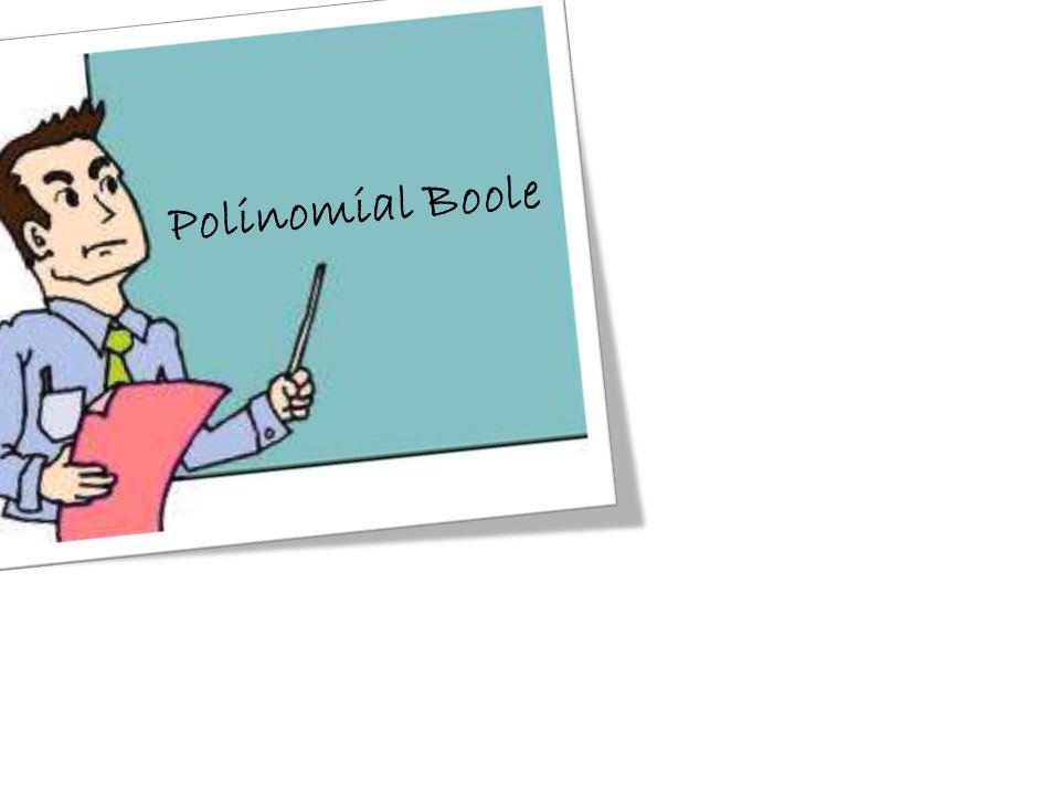 Polinomial Boole