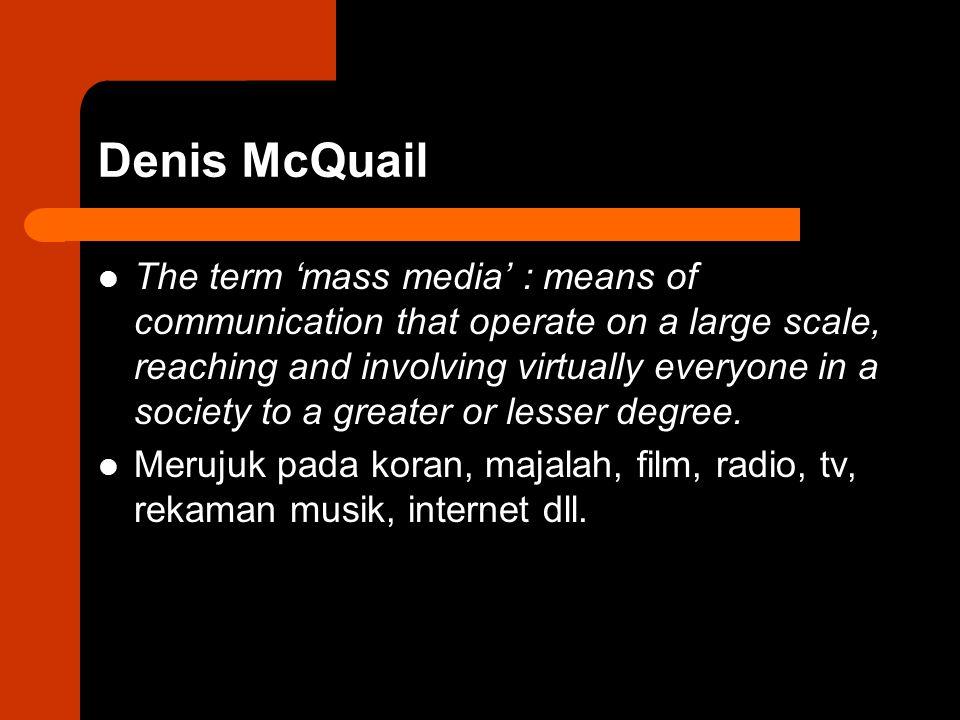 Media di tengah isu-isu utama POLITICS MEDIA INSTITUTIONS ECONOMICS TECHNOLOGY
