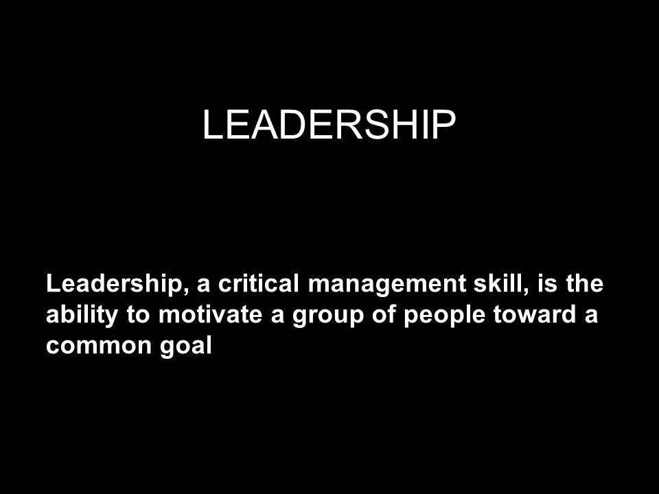 KONSEP LEADERSHIP 1.