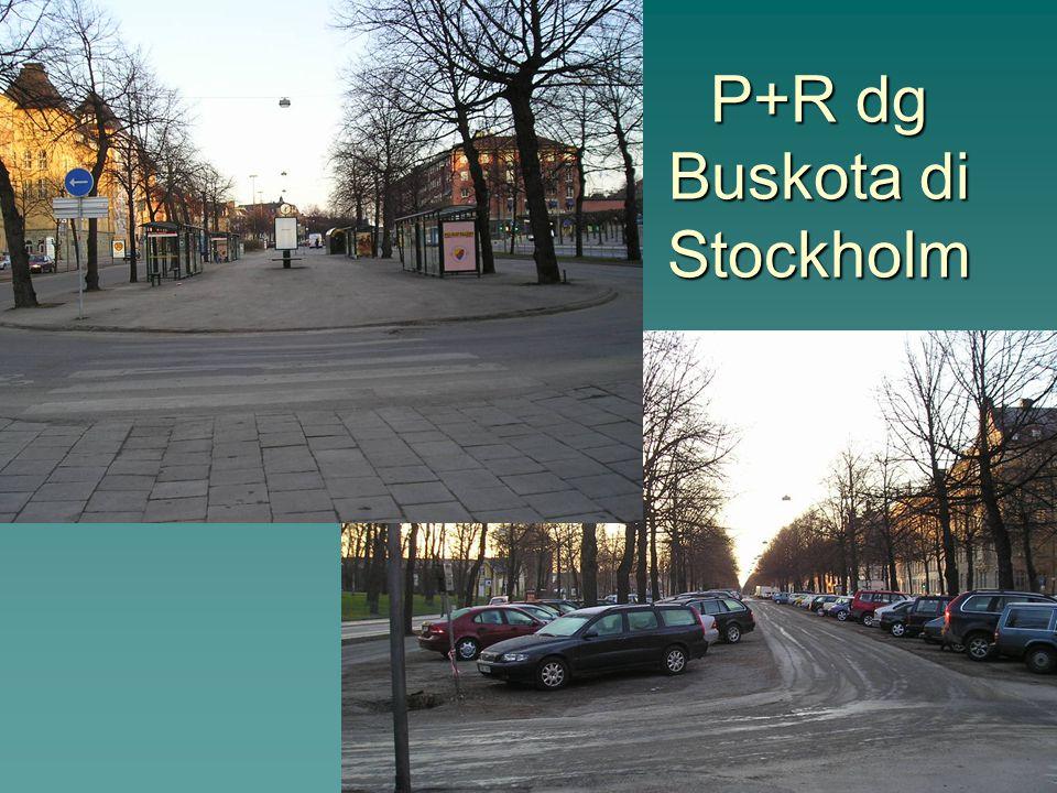 P+R dg Buskota di Stockholm