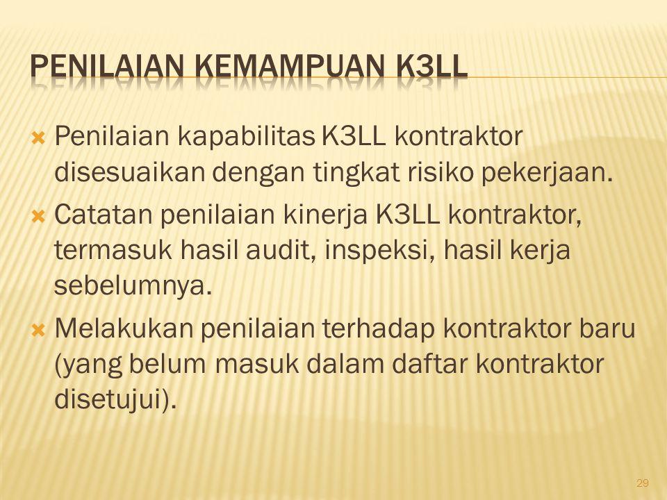  Komitmen dan Kepemimpinan K3LL. Tujuan, Kebijakan dan Strategi.