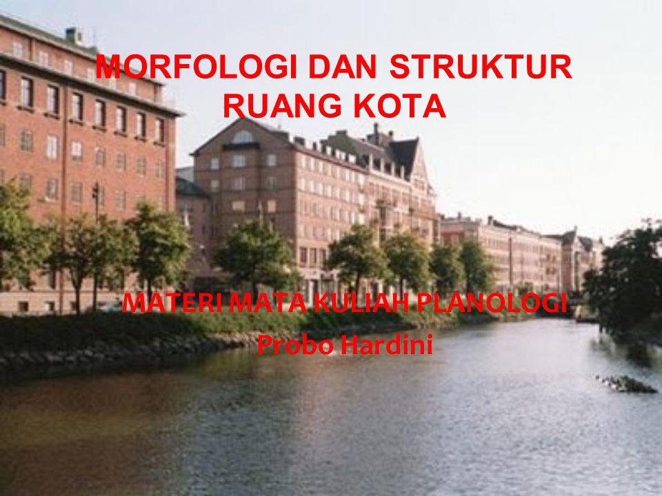 Morfologi Kota