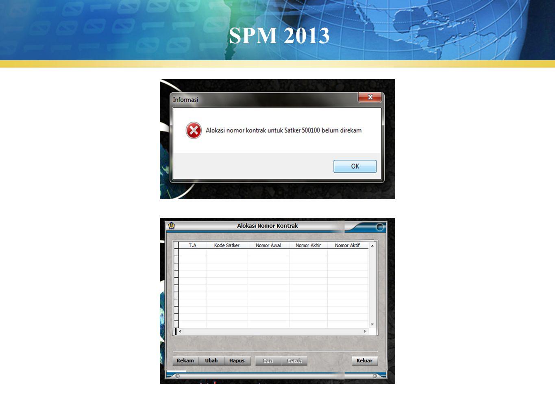 SPM 2013
