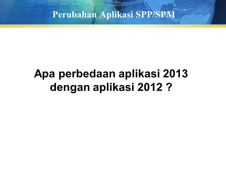 Pengguna Aplikasi Operator PPK merekam, ubah atau hapus SPP User (Pengguna Aplikasi) Operator SPM mencatat, batal atau hapus SPM