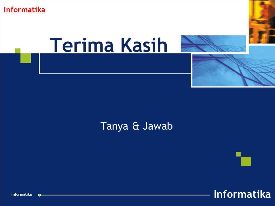 Collabnet Overview v 1.2 021201 Informatika Terima Kasih Tanya & Jawab