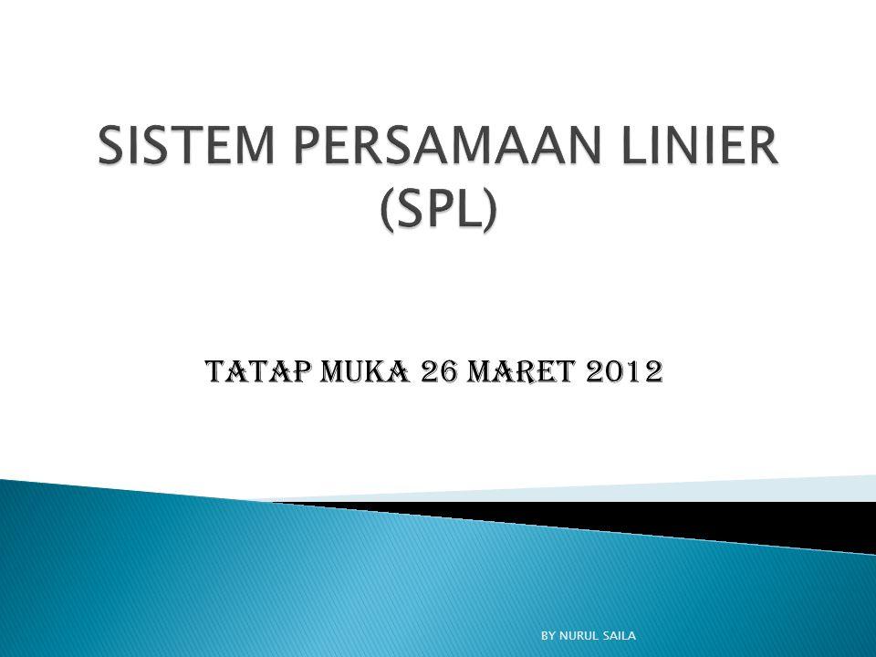 Tatap Muka 26 Maret 2012 BY NURUL SAILA