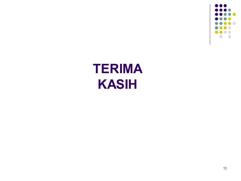 TERIMA KASIH 13