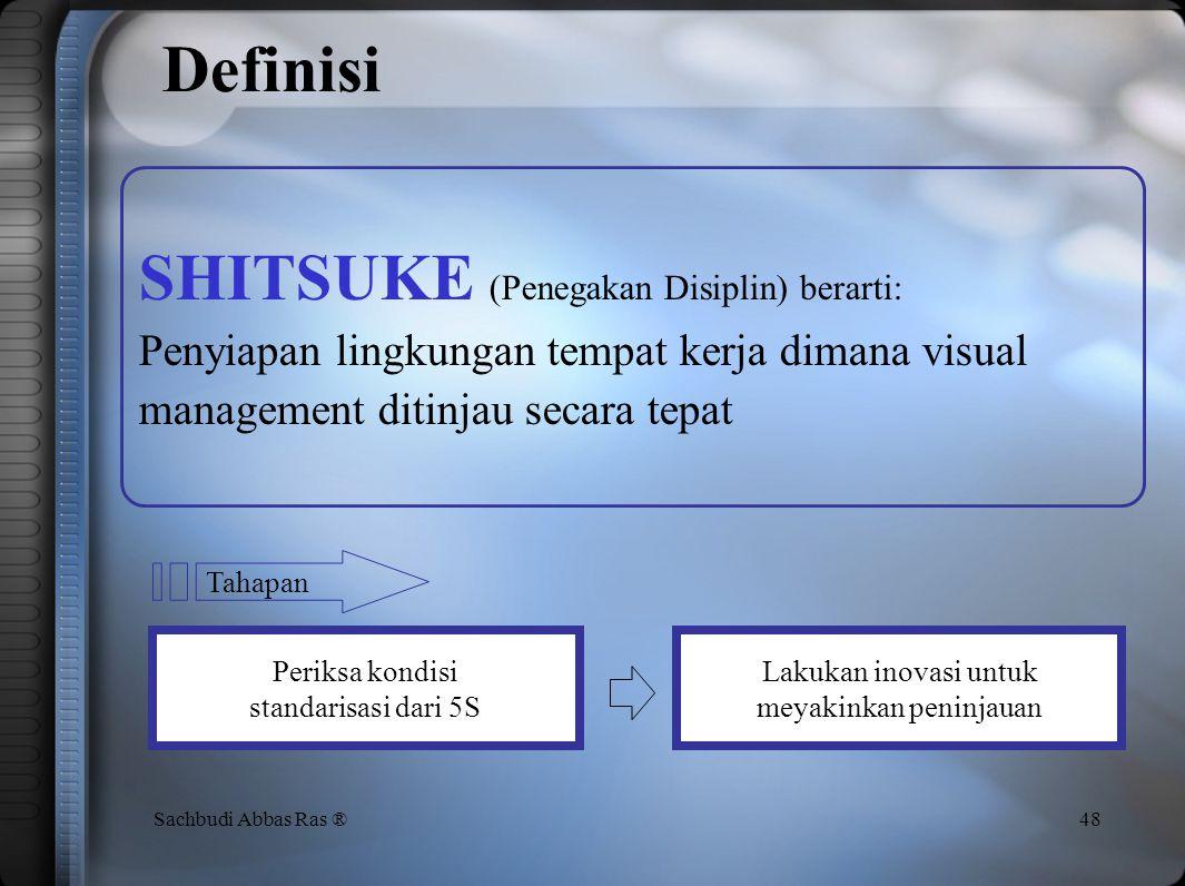Shitsuke Aktivitas Penegakan Disiplin dari 5S 47
