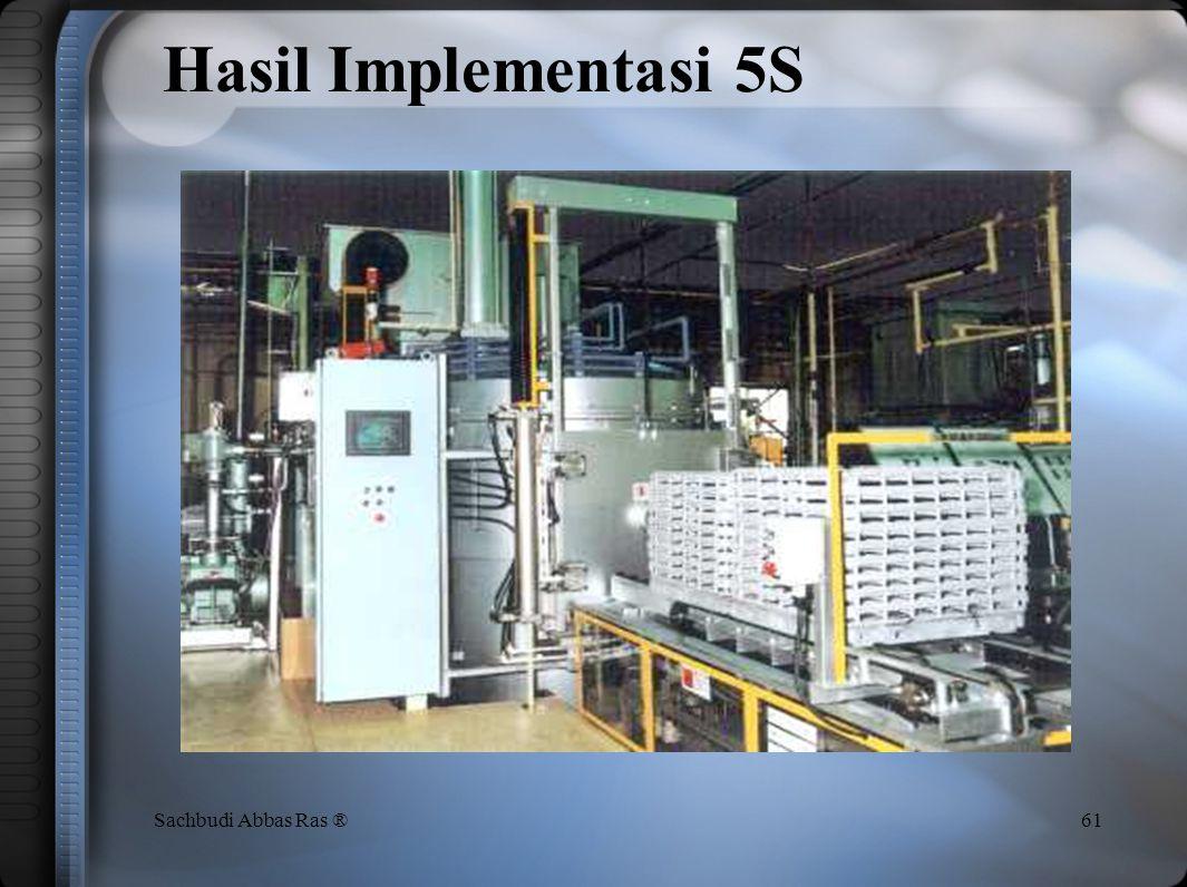 60Sachbudi Abbas Ras ® Hasil Implementasi 5S
