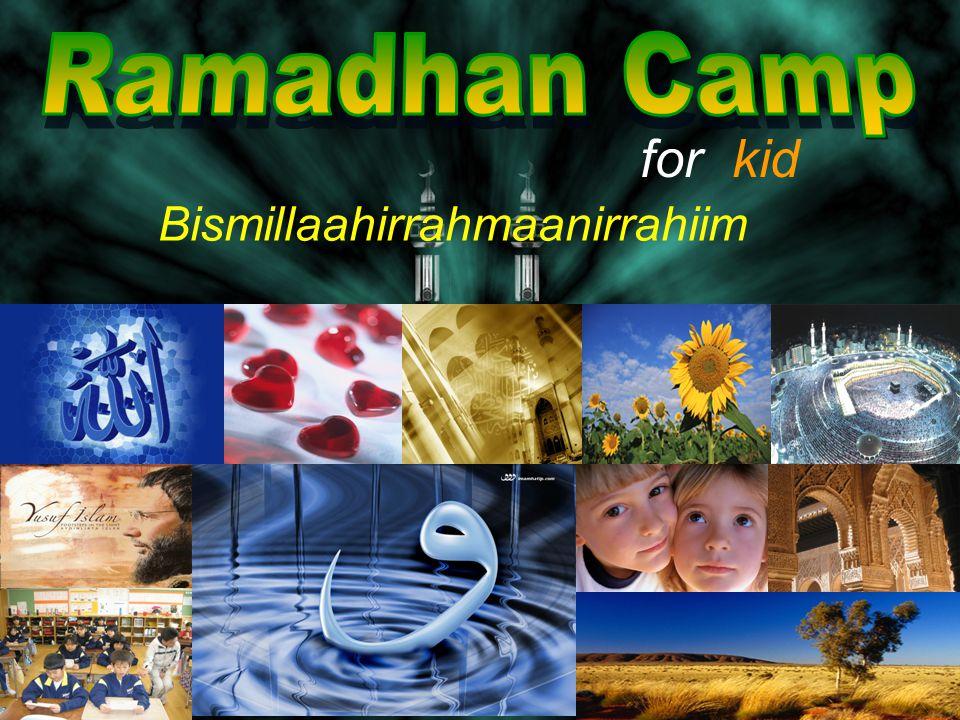 for kid Bismillaahirrahmaanirrahiim