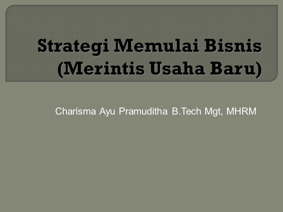 Charisma Ayu Pramuditha B.Tech Mgt, MHRM