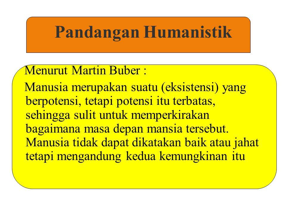 Pandangan Humanistik Menurut Adler : Manusia digerakkan sebagian oleh kebutuhan untuk mencapai sesuatu, dan sebagian lagi oleh tanggung jawab sosial dalam membantu orang lain dan dalam membuat dunia menjadi lebih baik