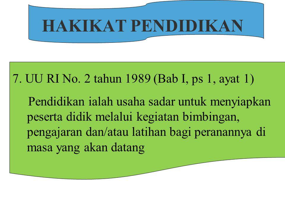 HAKIKAT PENDIDIKAN 6.
