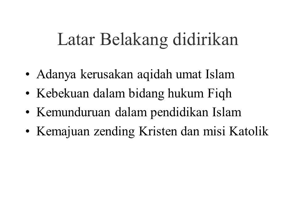 Perguruan Muhammadiyah Didirikan oleh Kiyai Haji Ahmad Dahlan di Yogyakarta pada 18 November 1912 Kiyai Haji Ahmad Dahlan lahir di Yogyakarta dengan nama Muhammad Darwis pada tahun 1869.
