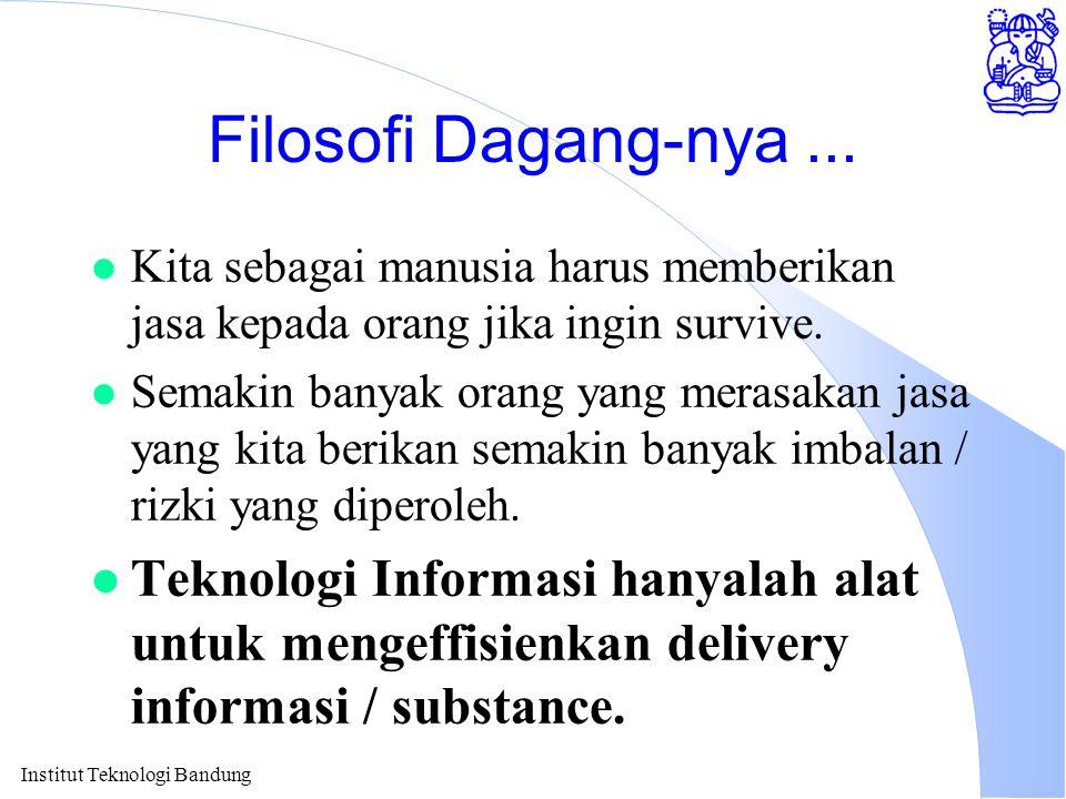 Institut Teknologi Bandung Filosofi Dagang-nya...