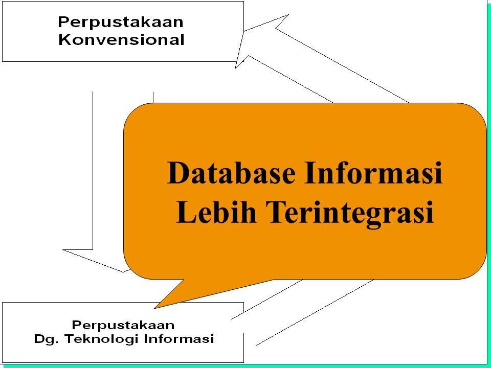 Institut Teknologi Bandung Database Informasi Lebih Terintegrasi