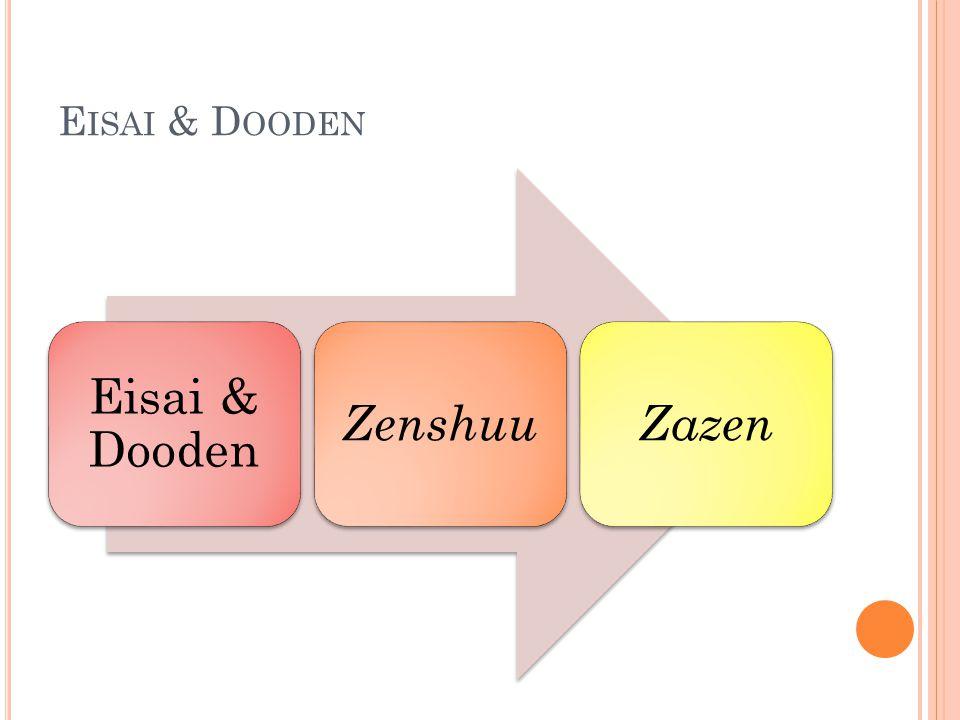 E ISAI & D OODEN Eisai & Dooden ZenshuuZazen