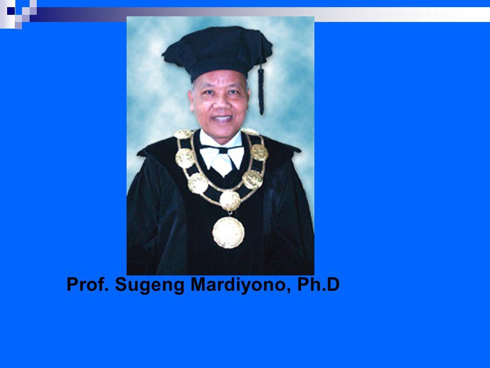 Prof. Sugeng Mardiyono, Ph.D