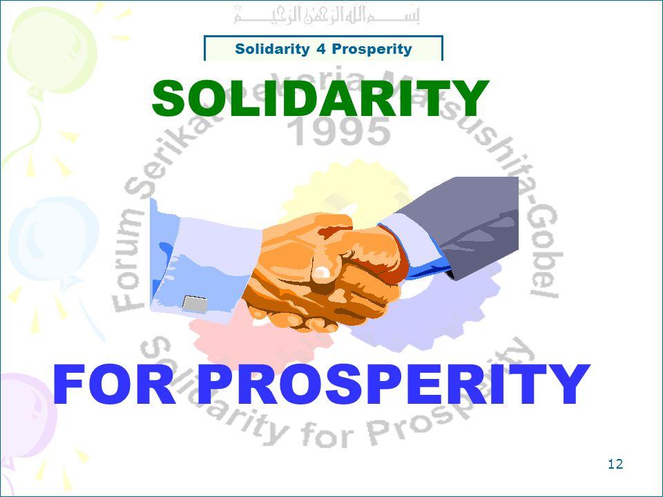 Solidarity 4 Prosperity 11 Catatan Kegiatan Secara umum kegiatan berkurang secara signifikan dari tahun ke tahun Penutupan 3 perusahaan di tahun 2007