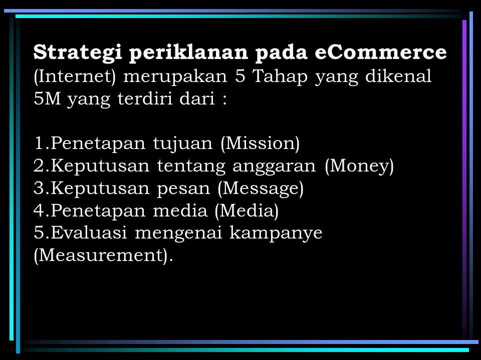 Strategi memilih media periklanan pada E-Commerce Pengunjung Jangkauan Impresi Pengaruh