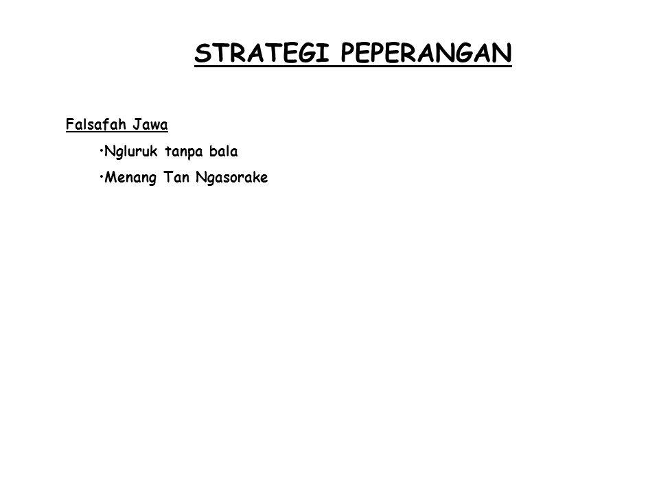 STRATEGI GENERIK ( dari Glueck ) 4)Strategi Kombinasi Pemakaian lebih dari satu strategi Alasan : Terjadi perubahan yang cepat pada lingkungan luar/ dalam perusahaan Adanya daur hidup berbeda dari sebuah produk