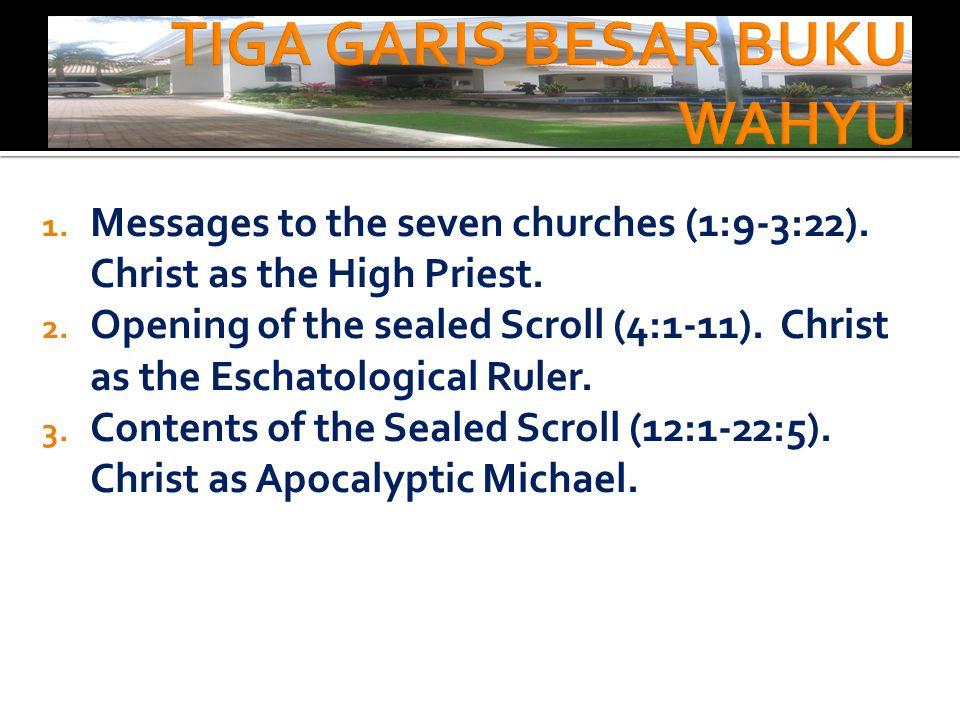 Tujuh kaki dian (ayat 12,20). Melambangkan tujuh jemaat yang sangat dikasihi oleh Yesus.