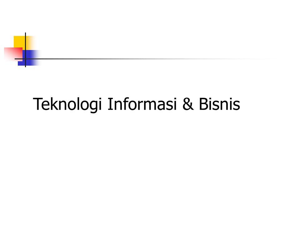 e-Bisnis & e-Commerce Abulwafa Muhammad, S.Kom, M.Kom