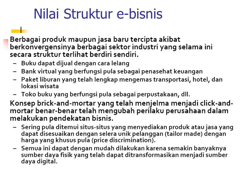 Nilai Struktur e-bisnis