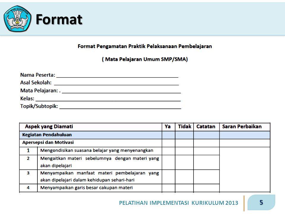 5 Format