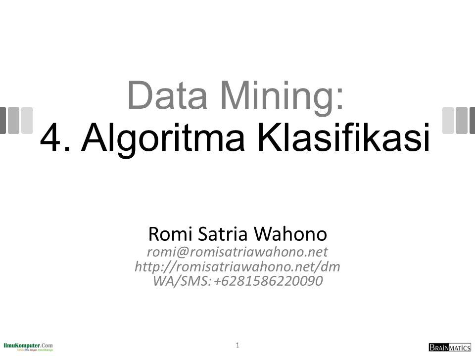 Data Mining: 4.