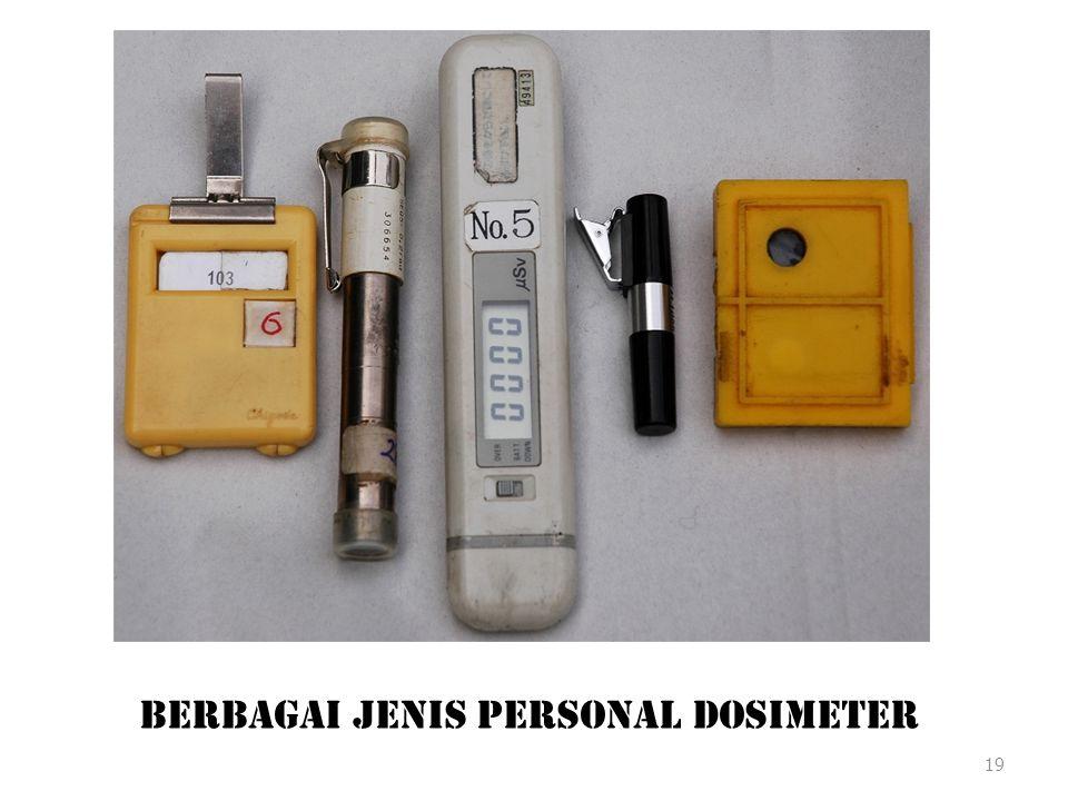 Berbagai Jenis Personal Dosimeter 19