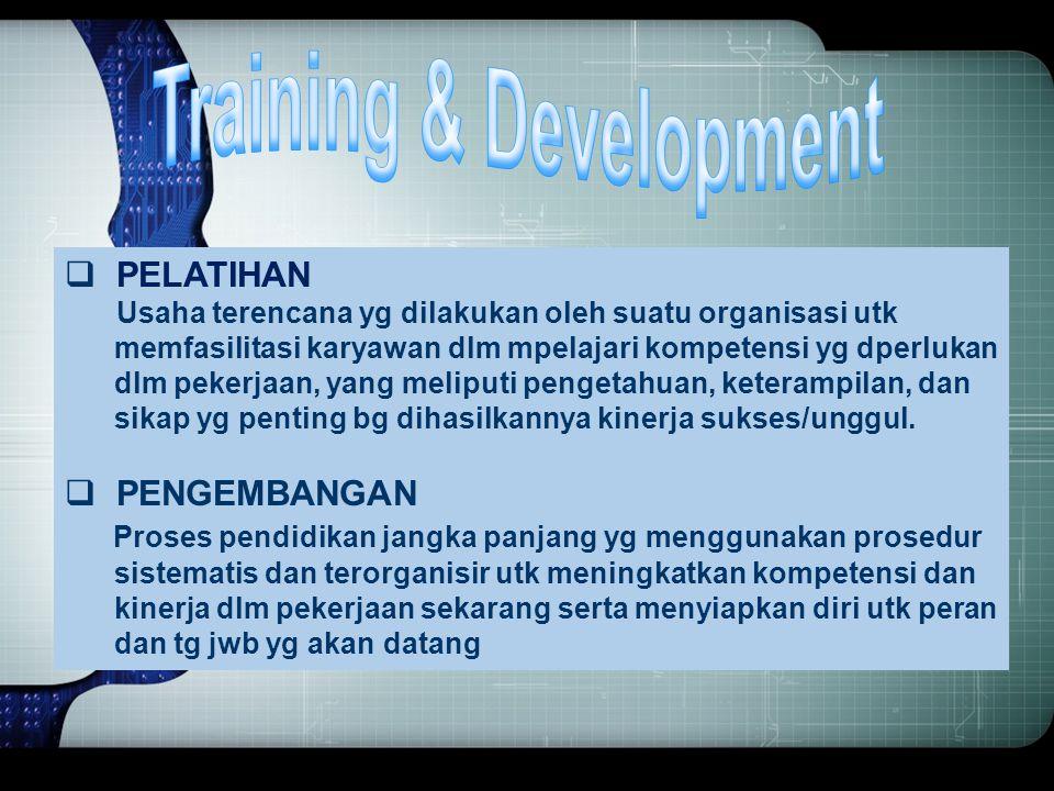 TUJUAN & KEGUNAAN PERFORMANCE APPRAISAL 1. Perencanaan SDM 2. Memperbaiki kinerja/prestasi kerja karyawan 3. Dasar pertimbangan keputusan penggajian 4