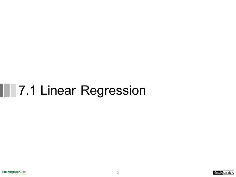 7.1.1 Tahapan Algoritma Linear Regression 6
