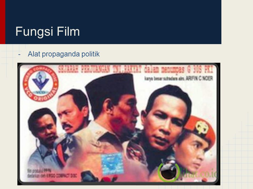 Fungsi Film -Alat propaganda politik