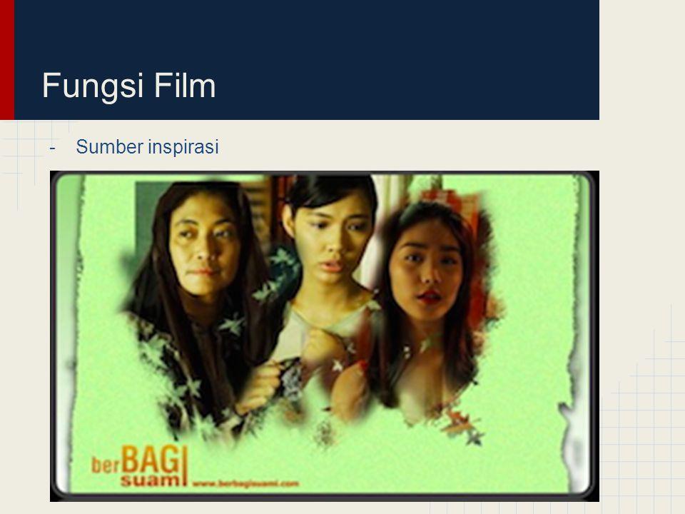 Fungsi Film -Alat perubahan sosial