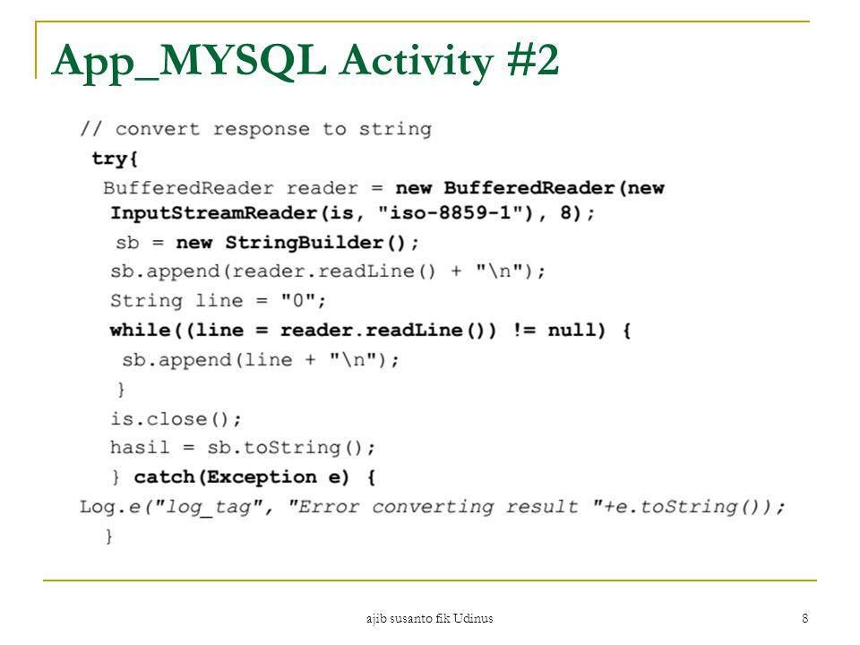 ajib susanto fik Udinus 8 App_MYSQL Activity #2