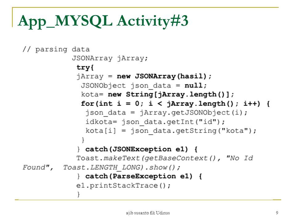ajib susanto fik Udinus 9 App_MYSQL Activity#3