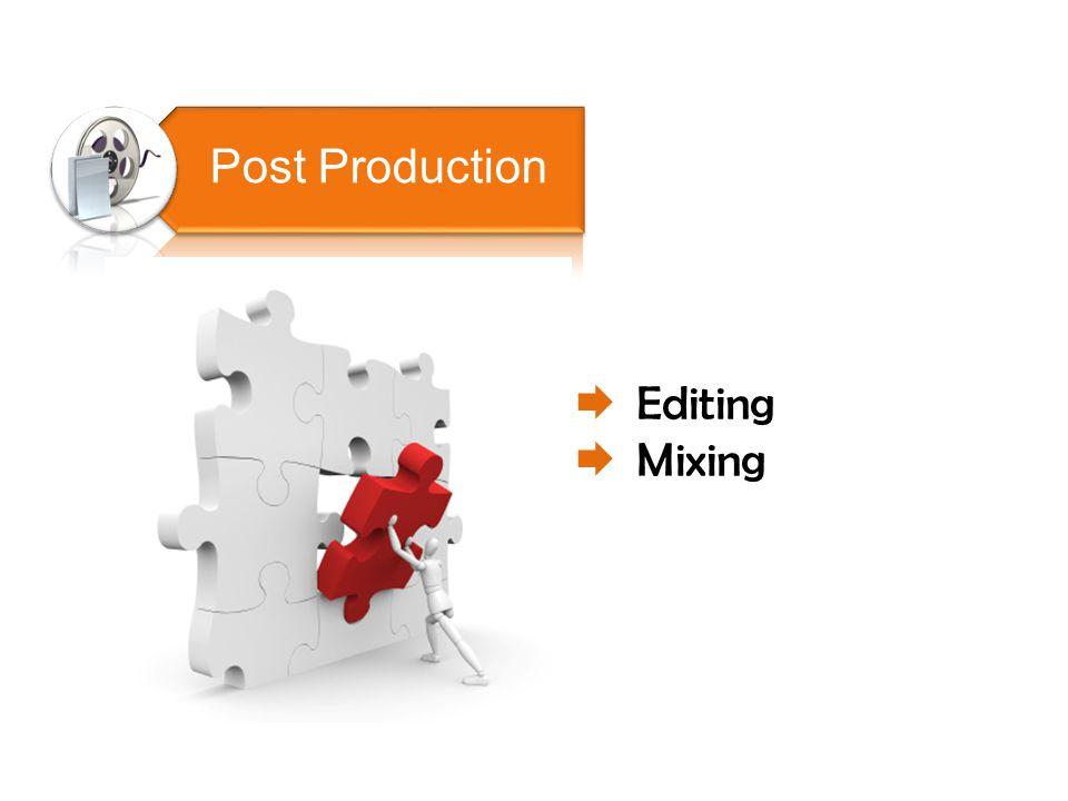  Editing  Mixing