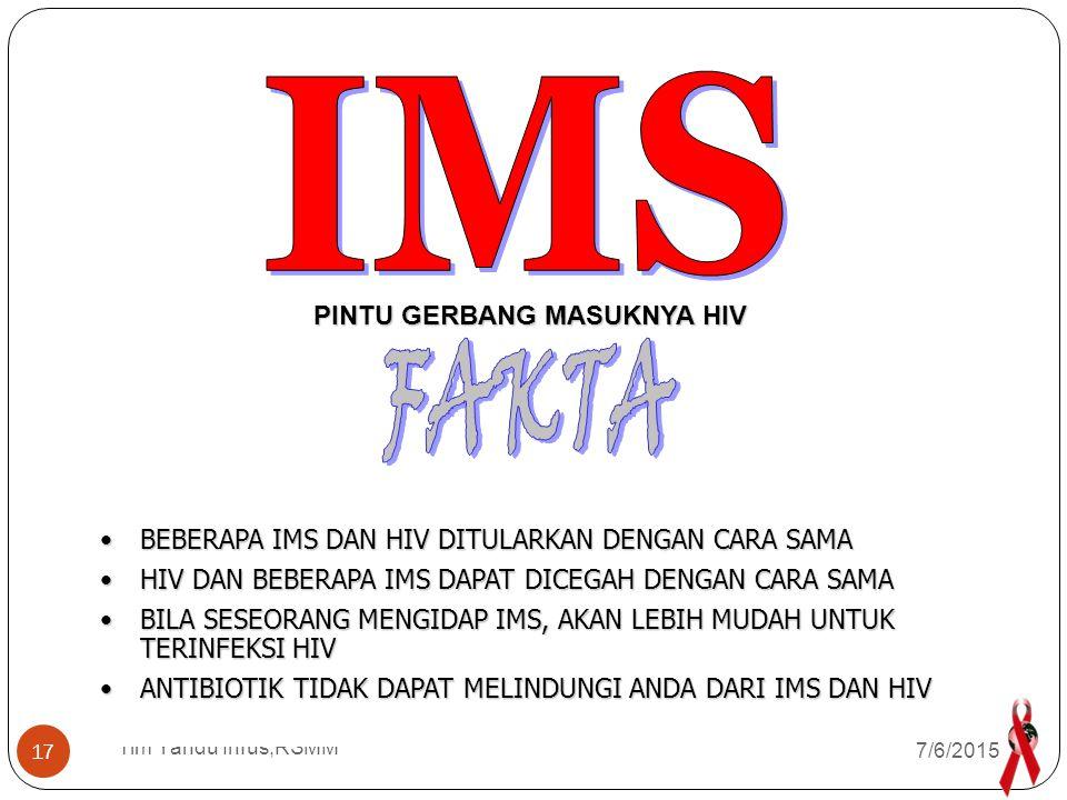 Tim Yandu Infus,RSMM 1.