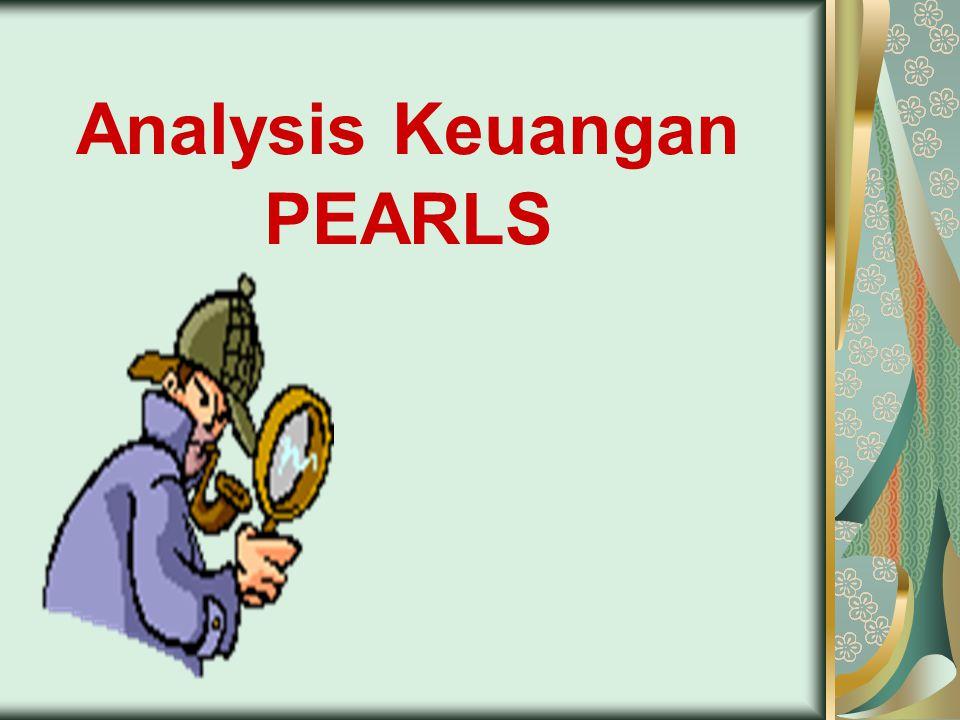 Analisis PEARLS adalah sarana yang dapat digunakan oleh Credit Union di Asia.