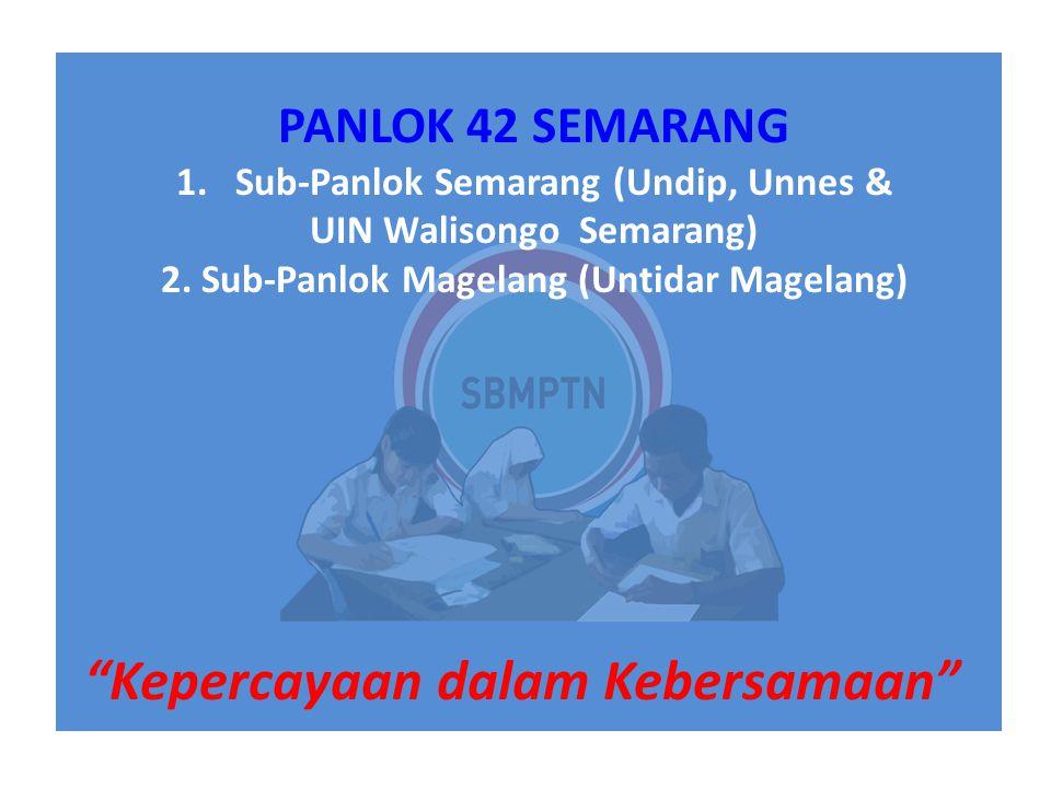 SBMPTN 2015_Panlok SemarangKepercayaan dalam Kebersamaan / 3 Jadwal Penting SBMPTN 2015